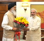 New Delhi: Punjab CM calls on Modi