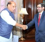 New Delhi: UAE envoy calls on Rajnath Singh