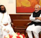 New Delhi: Sri Sri Ravi Shankar calls on the PM Modi