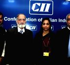 New Delhi: Kiran Karnik  during a CII conference