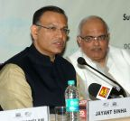 New Delhi: Jayant Sinha during One Day Certificate Training Programme