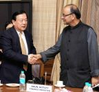 New Delhi: Chinese delegate meets Arun Jaitley