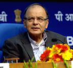 New Delhi: Arun Jaitley addresses at the Foundation Day of SPMCIL