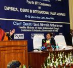 New Delhi: Research Conference on `Empirical Issues in International Trade and Finance` - Nirmala Sitharaman
