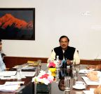 New Delhi: Mahesh Sharma meets top official of Civil Aviation ministry