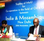 New Delhi: Dharmendra Pradhan and Mozambique Foreign Minister sign MoU on Oil and Gas co-operation