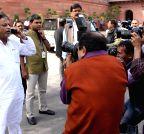 New Delhi: Parliament - Budget Session