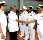 New Delhi: The Naval Commanders` Conference - Manohar Parrikar