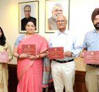 New Delhi: Smriti Irani launches the UGC Faculty Research Programme