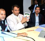 New Delhi: Launch of `Customer Complaint Web Portal and Mobile Application` - Suresh Prabhakar Prabhu