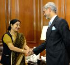 New Delhi: S. Jaishankar took charge as new foreign secretary