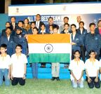 New Delhi: Y.S. Chowdary flags-off Team India ISEF-2015