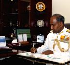New Delhi: Vice Admiral P. Murugesan assumes charge as the Vice Chief of the Naval Staff
