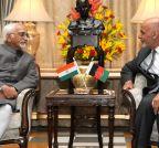 New Delhi: Hamid Ansari meets Afghanistan President