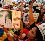 New Delhi: AAP candlelight vigil