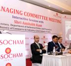 New Delhi: Pak envoy at ASSOCHAM's 10th Managing Committee Meeting