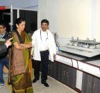 Noida: Nirmala Sitharaman visits FDDI