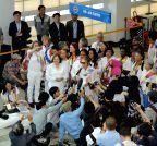 SOUTH KOREA-PAJU-DMZ CROSSING-WOMEN ACTIVISTS