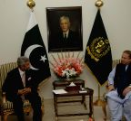 Pakistan: Jaishankar calls on Nawaz Sharif
