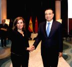 SPAIN-PALMA-CHINA-LI KEQIANG-SPANISH DEPUTY PM-MEETING