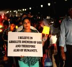 Panaji: Christians protest against the attacks on Churches and Christian