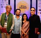 Panaji: Sudhir Mishra, Shekhar Kapur, Nina Lath Gupta, Vinod Chopra at IFFI-2014