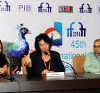 Panaji: Korean filmmaker addresses press at IFFI-2014