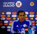 Ramon Diaz - press conference