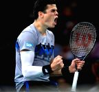 Paris: ATP World Tour Masters 1000 indoor tennis tournament