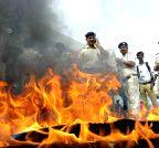 Patna: ABVP shutdown