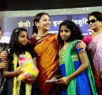 Patna: Shabana Azmi during a programme