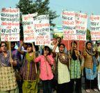 Patna: AIDSO demonstration