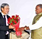 Patna: Vietnamese Ambassador calls on Bihar CM