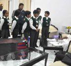 Patna: Bihar CM meets students