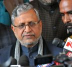 Patna: Bihar Assembly - Winter Session - Day - 1 - Sushil Kumar Modi