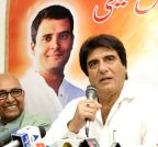 Patna: Raj Babbar's press conference