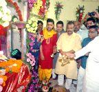 Patna:  Chitragupta Puja - Nitish Kumar