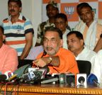Patna: Radha Mohan Singh's press conference