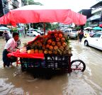 MYANMAR-YANGON-FLOOD