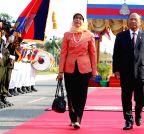 CAMBODIA-SINGAPORE-VISIT