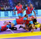 Jaipur: Pro Kabaddi league - Jaipur Pink Panthers vs Patna Pirates