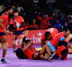 Pro Kabaddi league - Dabang Delhi vs Jaipur Pink Panthers