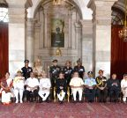 New Delhi: The Defence Investiture Ceremony–II
