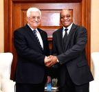 Pretoria (South Africa): SF President Zuma meets Palestinian President Abbas