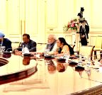 PM Modi at the delegation level talks