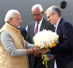 Jammu and Kashmir: Prime Minister Narendra Modi with  Chief Minister Omar Abdullah