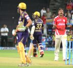 Pune: IPL - 2015- Kings XI Punjab vs Kolkata Knight Riders (Batch - 6)