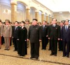 (WORLD SECTION) DPRK-PYONGYANG-LATE LEADER-ANNIVERSARY