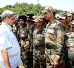 Rajouri sector: Manohar Parrikar visits Rajouri sector