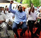 Rajeev Chandrasekhar joins ex-servicemen over One Rank, One Pension (OROP) hunger strike